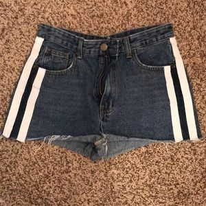 NastyGal shorts cut offs fit like a size 4
